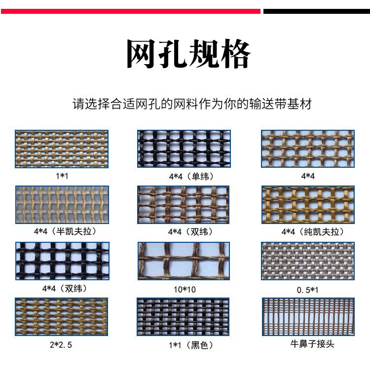 传动带_烘箱网格机苏州固化网带UV铁氟龙高温特氟龙供应布带耐高温输送带