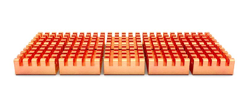 超频三金鱼冰蚕笔记型电脑散热片内存显卡显存散热片南北桥散热片详细照片