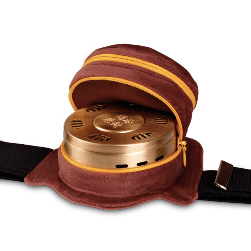 艾灸盒随身灸家用仪器无烟包艾炙罐铜盒艾盒宫寒熏蒸仪家庭式全身