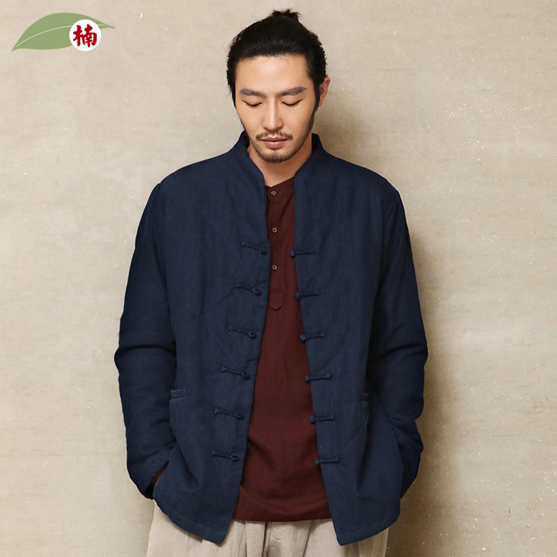 a3eba902a Nan Tang suit male Chinese style men's winter coat male short coat  middle-aged cotton padded Chinese padded warm jacket