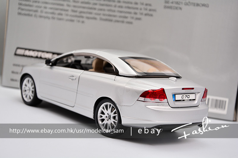 motorart 1 18 volvo c70 cabrio ebay. Black Bedroom Furniture Sets. Home Design Ideas