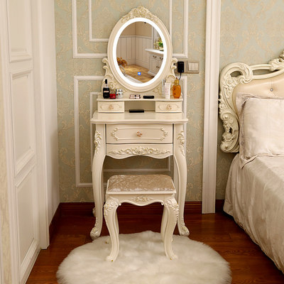 Nordic INS wind network red dressing table small apartment bedroom modern minimalist cosmetic cabinet simple economic table