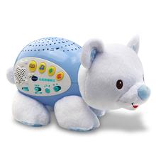 VTech伟易达北极熊睡眠仪 宝宝安抚玩偶安睡投影婴幼儿哄睡玩具