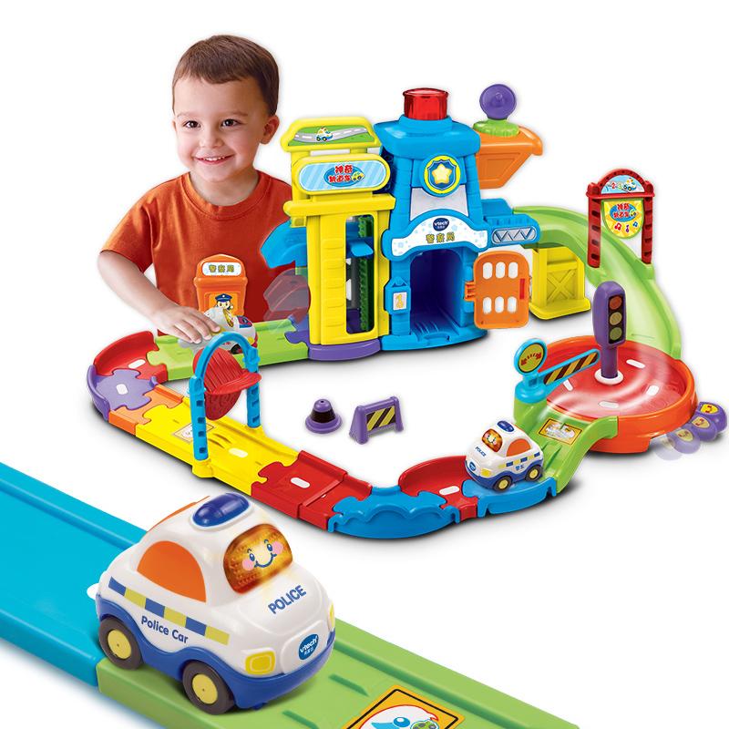 伟易达警察局互动玩具车