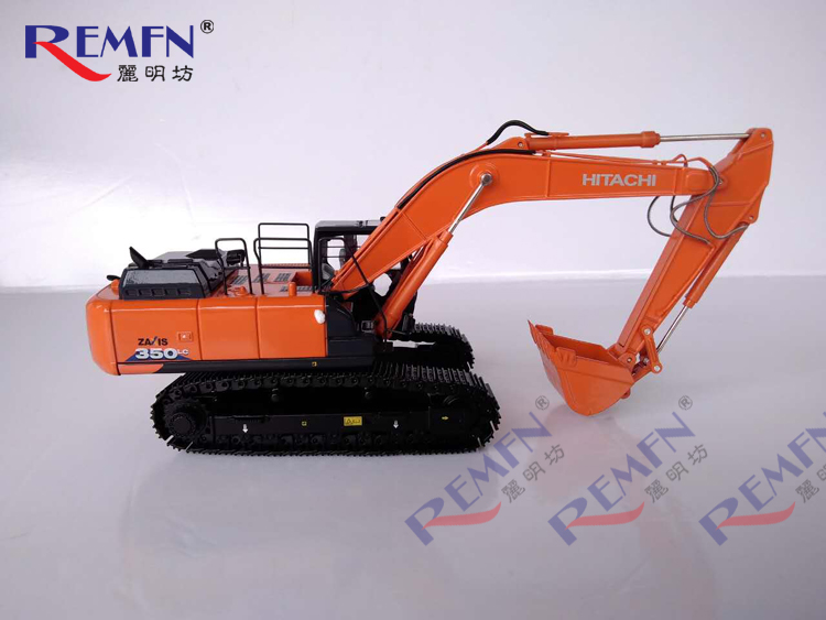 TMC 1:50 Hitachi ZAXIS350-6 Hitachi Excavator Alloy Truck Model ZX350-6