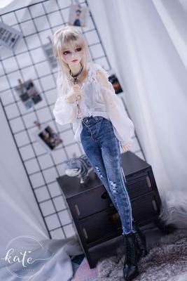 taobao agent Endless -Ollie-translucent shirt sd/msd/dd/bjd dress top doll baby clothes