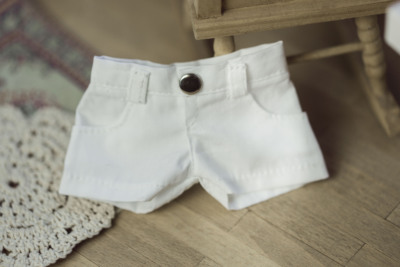 taobao agent [ENDLESS] bjd/sd/dd baby clothes shorts white shorts 3 points 4 points msd13 male uncle pants