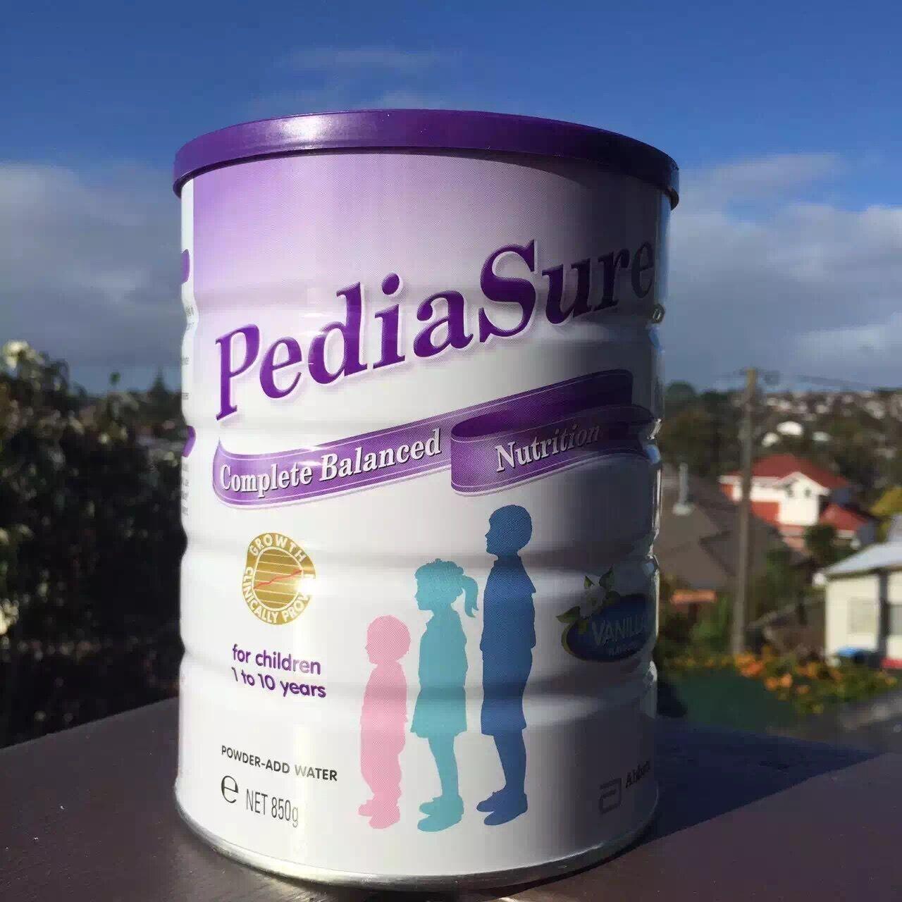 雅培小安素奶_新西兰直邮PediaSure雅培小安素儿童成长奶粉