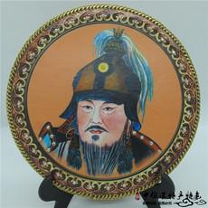 Монгольская картина из кожи Prestige treasure