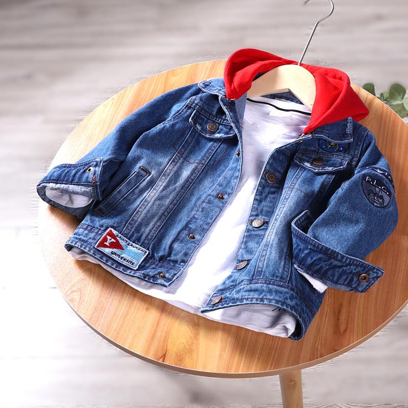衣服童装外套春秋款2021年新款秋装秋季洋气中大童儿男童男孩牛仔