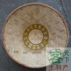 Коническая шляпа Мао Ручной бамбука шляпа,