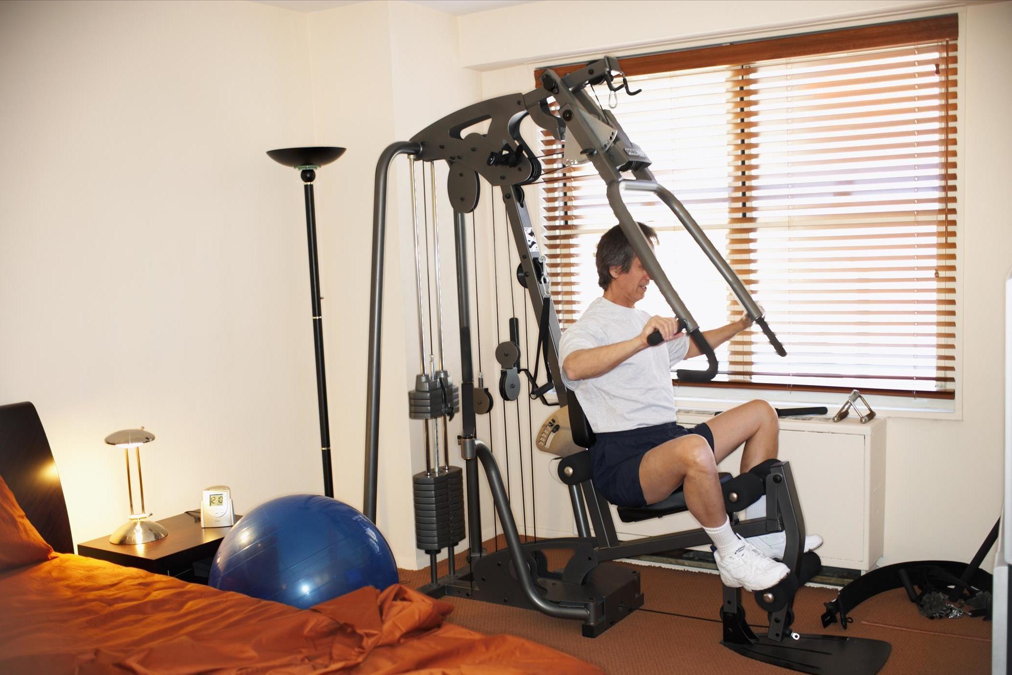 增添实用的健身器材,在家也可以健身!18