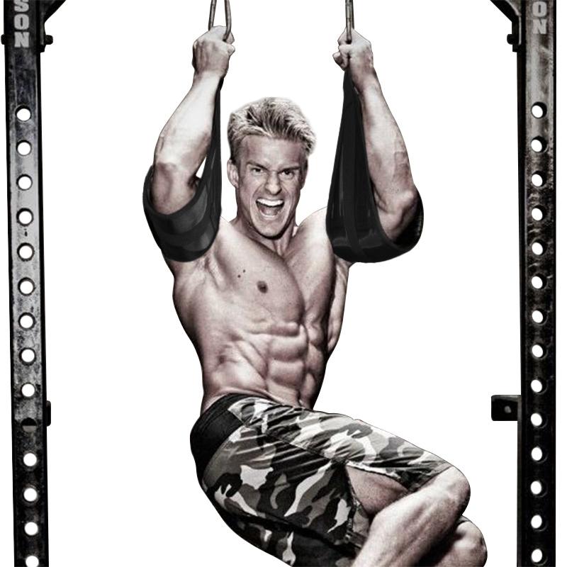 腹肌带悬臂带训练带门上单杠助力带腹肌腰带健腹器收腹悬挂训练带
