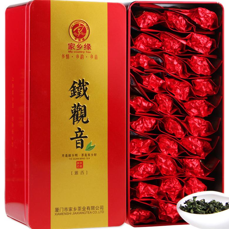 新秋茶清香型安溪铁观音乌龙茶