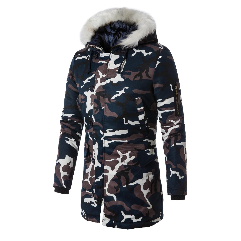 冬季外套男迷彩棉服棉衣男外套加厚保暖连帽情侣款1715-M06-P80