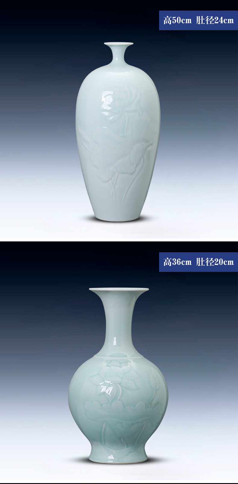 Clearance!!!!!! A limited number of ceramic vases, flower arranging clearance