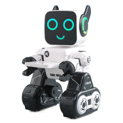 Children's intelligent remote control robot toys puzzle