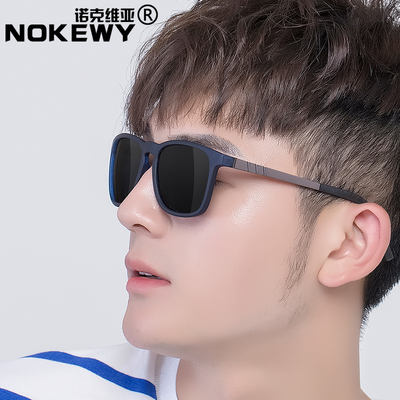 New sunglasses tide men driving polarizer fishing sunglasses color change driving special driver men's night vision glasses