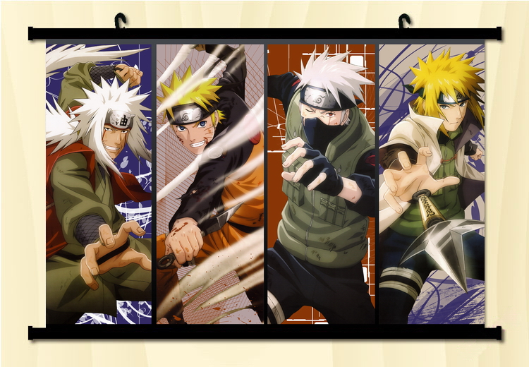 What Stores Accept Paypal Credit >> Home Decor Japanese Wall poster Scroll Naruto SHIPPUDEN ...