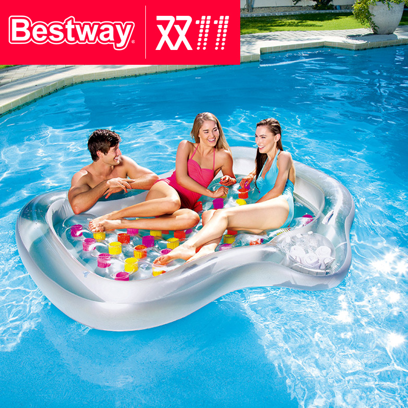 Bestway Water Recliner Inflatable recliner Floating row Beach lounge chair water floating float Bed inflatable mounts  sc 1 st  EnglishTaobao.net & USD 23.72] Bestway Water Recliner Inflatable recliner Floating row ... islam-shia.org