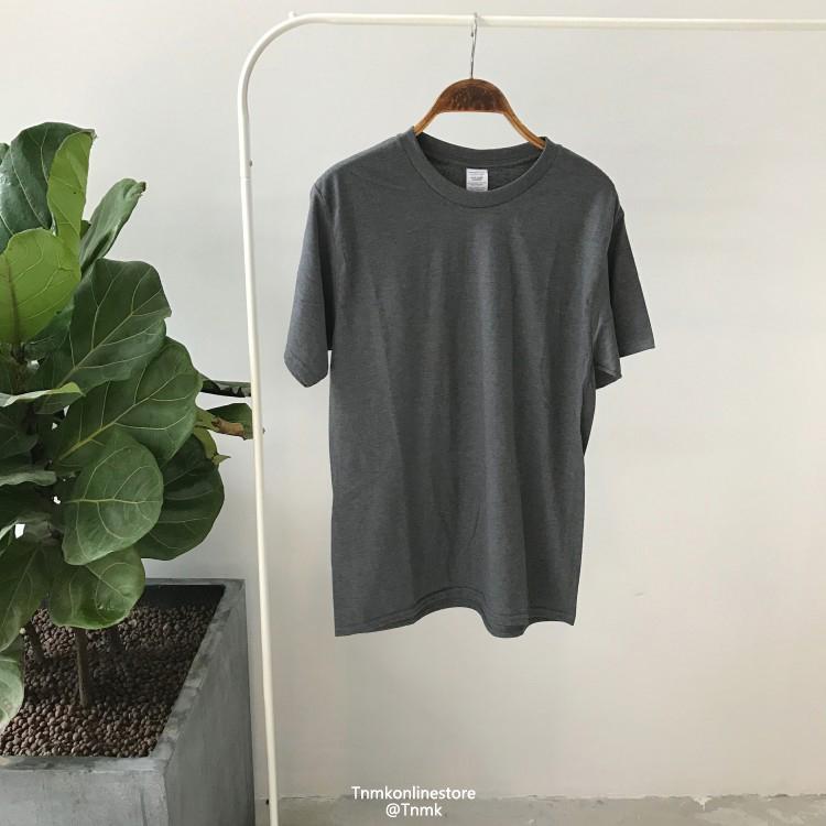Hồng Kông phong cách mùa hè nam màu rắn ngắn tay T-Shirt vòng cổ mùa hè sinh viên Nhật Bản thanh niên nửa tay áo triều của nam giới quần áo áo phông trắng nam