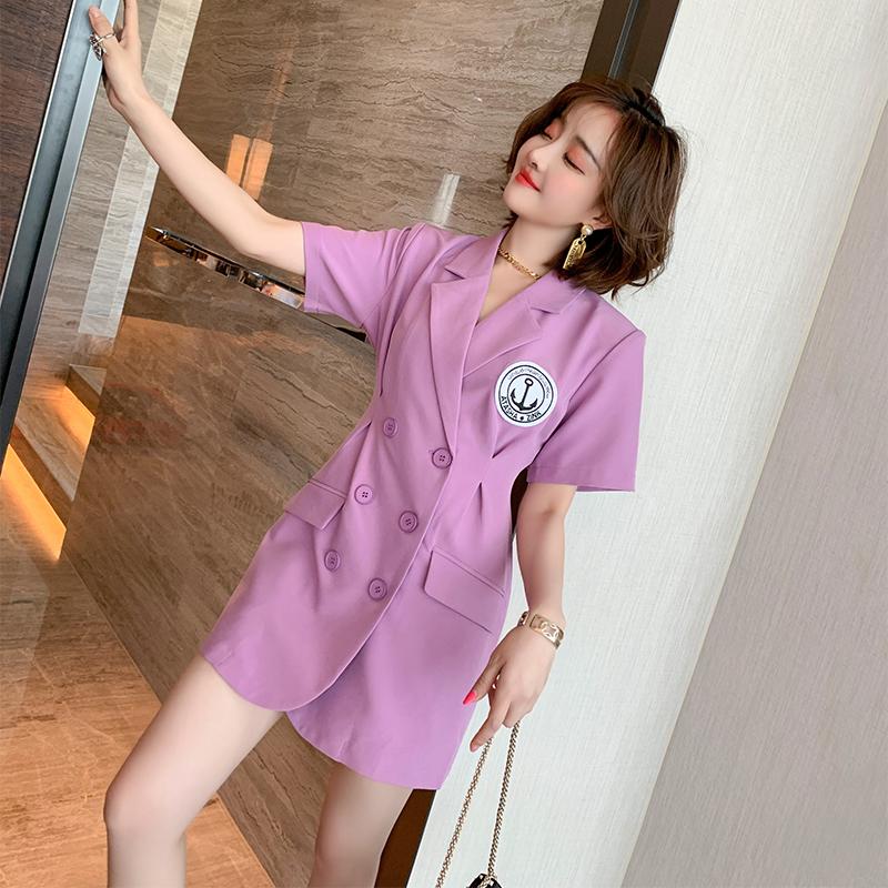 MIUCO khí chất thời trang đôi ngực eo thon gọn đơn giản và thanh lịch phù hợp với váy đầm đầm nữ 2020 hè k - váy đầm