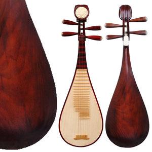 江音硬木儿童琵琶乐器初学练习成人演奏考级 送配件