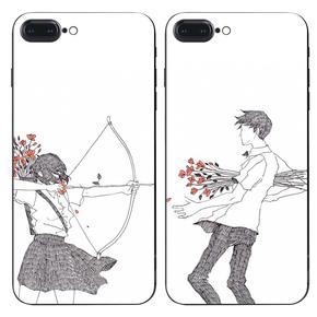 情侣手机壳定制任意机型