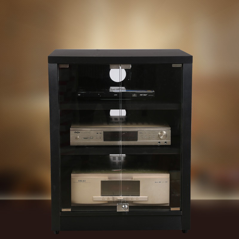 Amplifier Rack Professional Audio Amplifier Cabinet Equipment 234 Layer  With Glass Door AV Cabinet