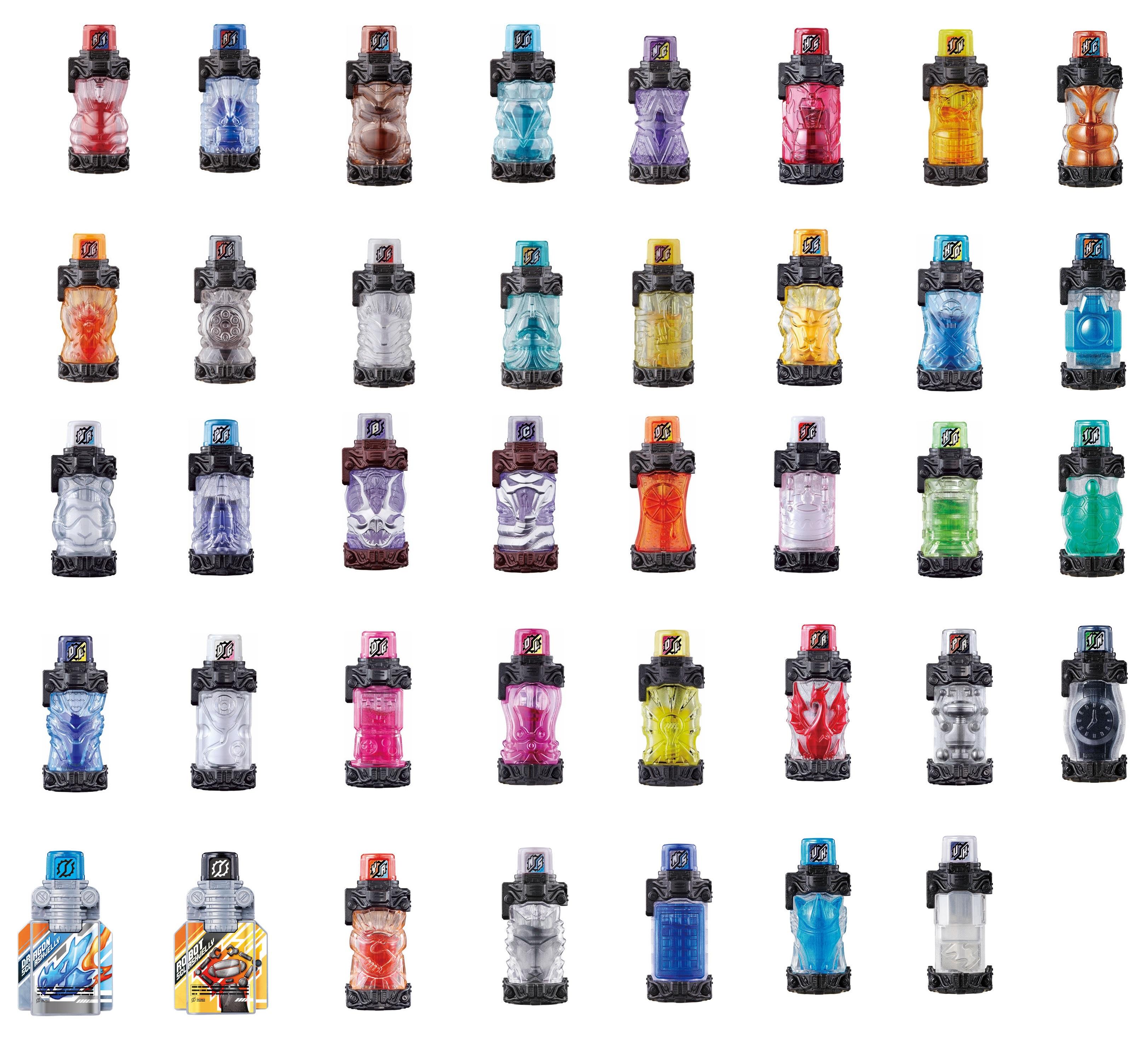 Kamen Rider Build Full GP Bottle Drink кролик Tank Snake Ninja Phoenix Jelly Bottle Full Capsule Toys
