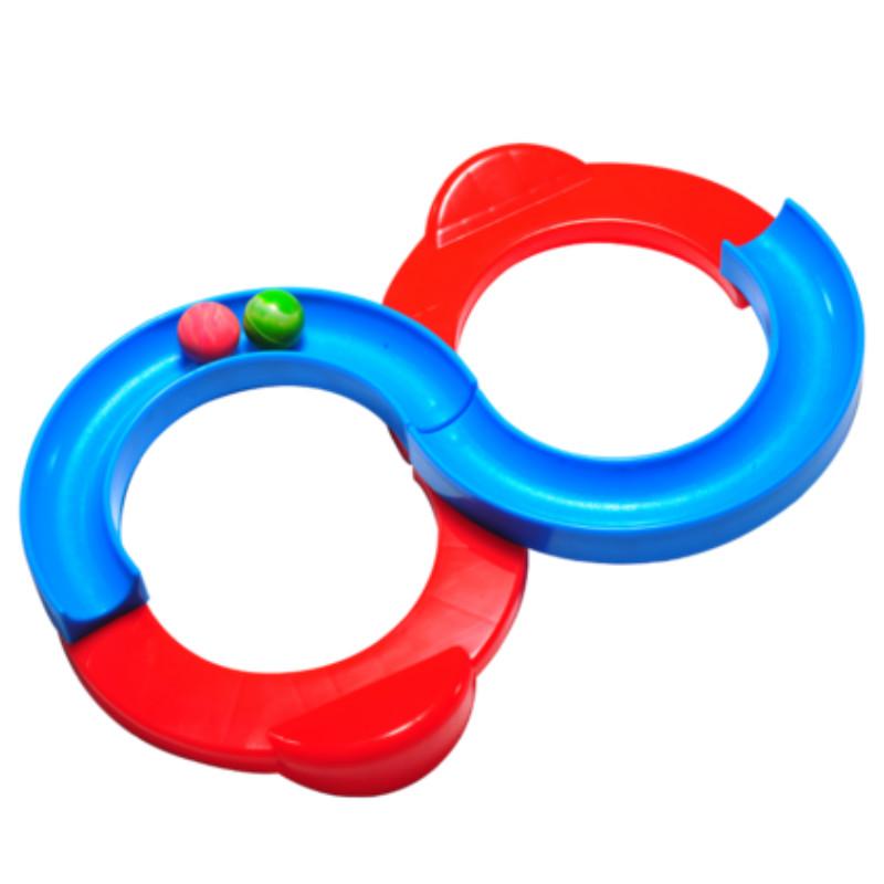 88轨道球儿童感统注意力训练器手眼协调反应能力抖音网红益智玩具