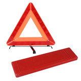 Annual inspection road home car safety pvc triangle warning sign big red box car sign reflective warning frame traffic