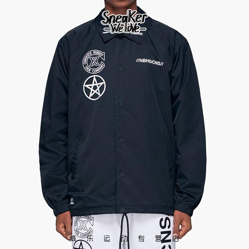 CONVERSE Converse X NEIGHBORHOOD áo khoác thông thường chung 10018147-A01 - Áo khoác thể thao / áo khoác