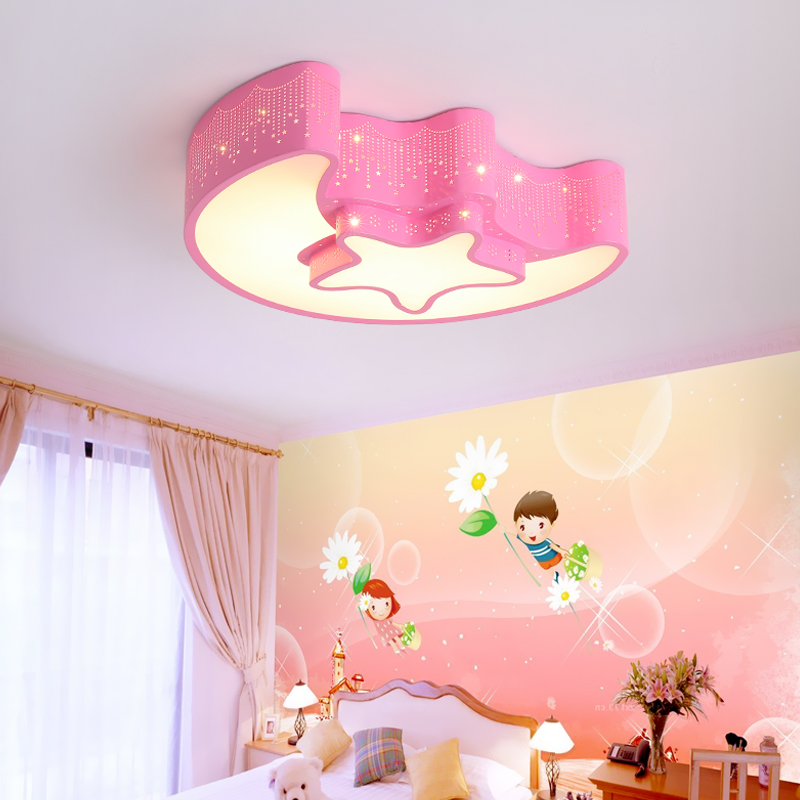 USD 75.91] Children room lamp modern minimalist boy girl cartoon ...