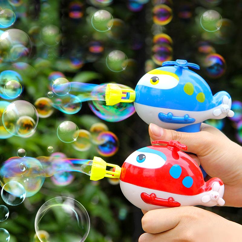 泡泡机玩具抖音同款网红小孩猪猪手动吹泡泡枪无需电池儿童不漏水