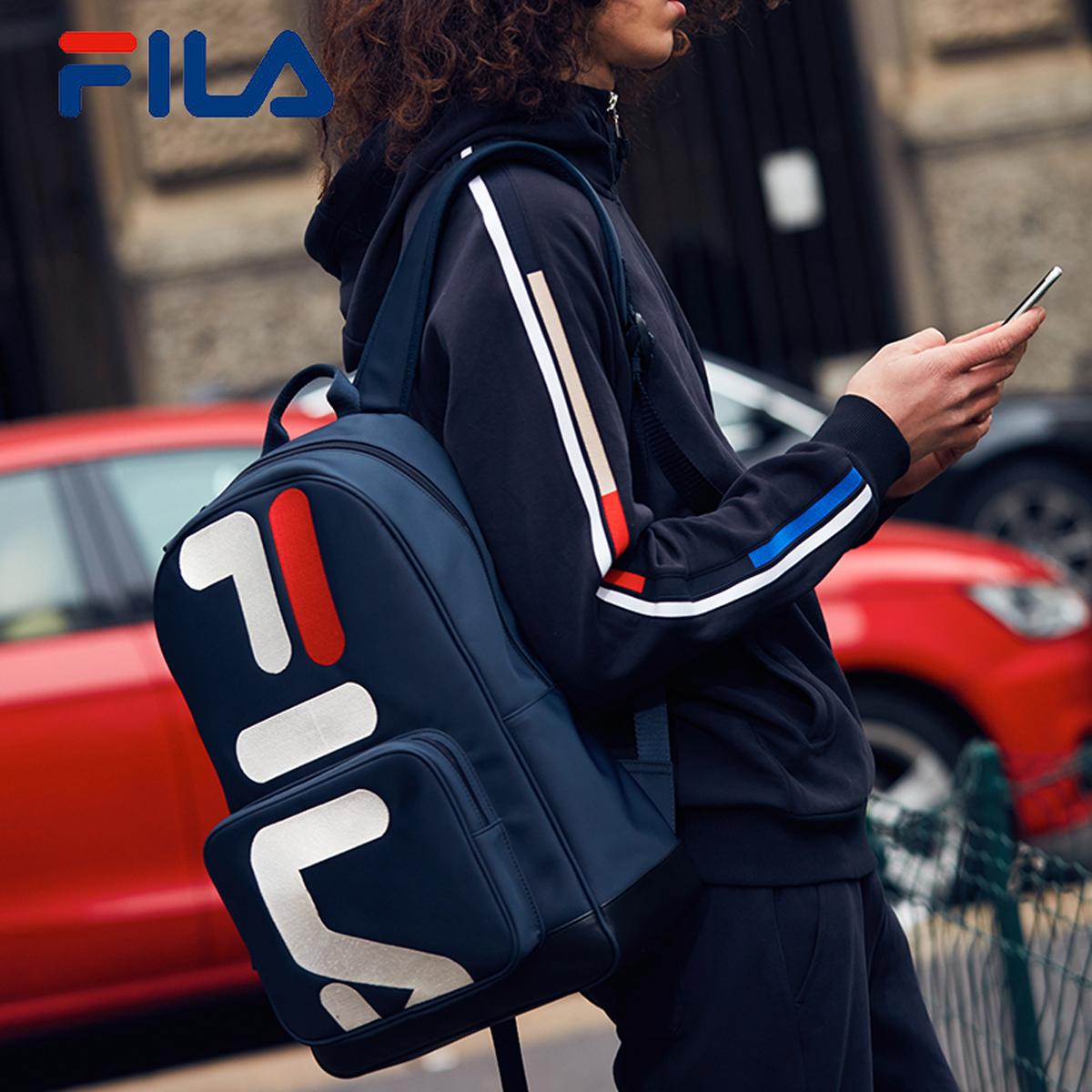 FILA фиджи музыка мужчина пакет рюкзак 2018 новая весна статья FILA LOGO движение рюкзак