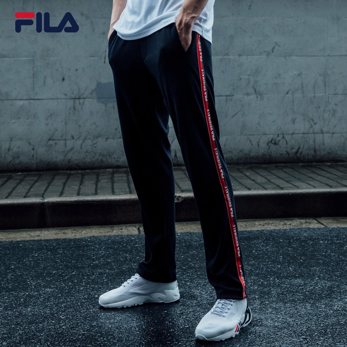 f85fea92dc47 FILA Fila men's trousers 2018 spring new trousers casual fashion running  pants men