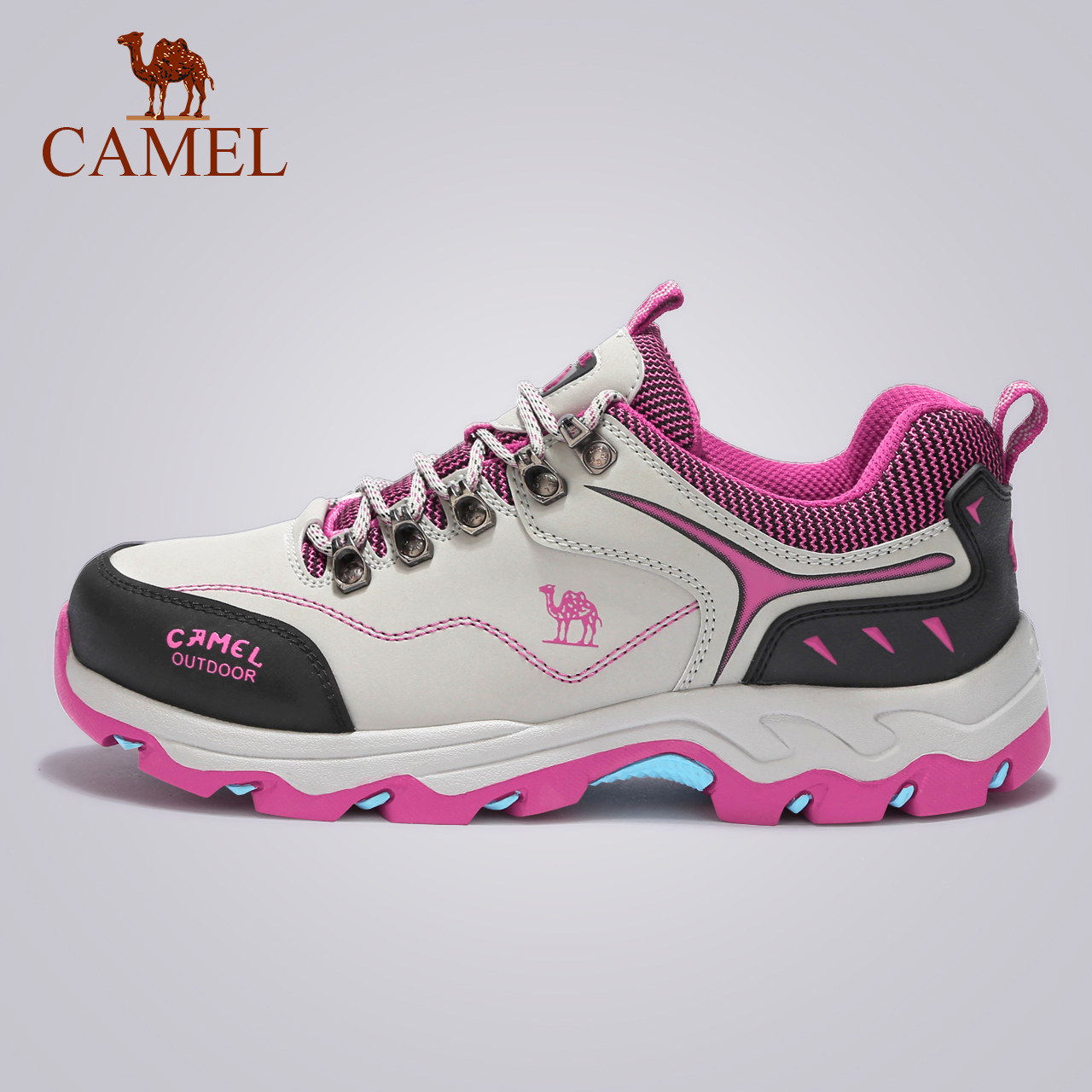 Camel hiking shoes female autumn and winter water repellent non-slip wear-resistant  outdoor 6427ac370a5