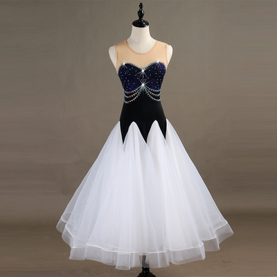 Ballroom Dance Dresses Waltz Group Show Dresses, National Standard Dresses, Modern Dresses