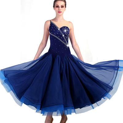 Ballroom Dance Dresses Dance Focus! High-end modern dresses, ballroom dances, dresses, group dancing competition dresses can be customized