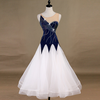 Ballroom Dance Dresses modern group dance competition dress for adult national standard dance dress can be customized