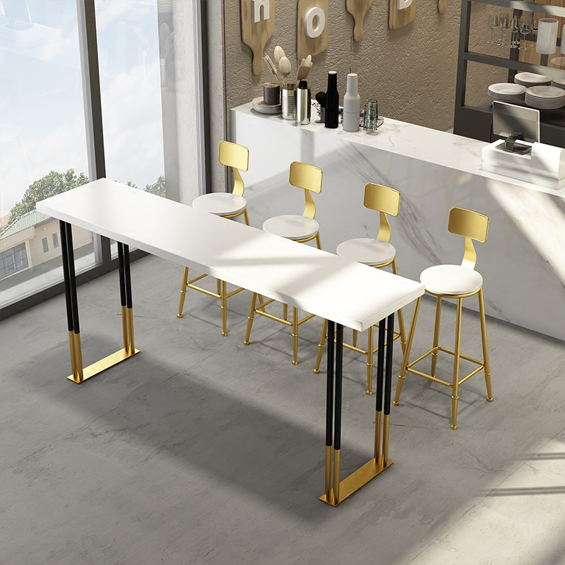 Solid Wood Bar Table High Table Home Small Wall Table Simple Modern Nordic  Creative Bar Tables And Chairs Combination