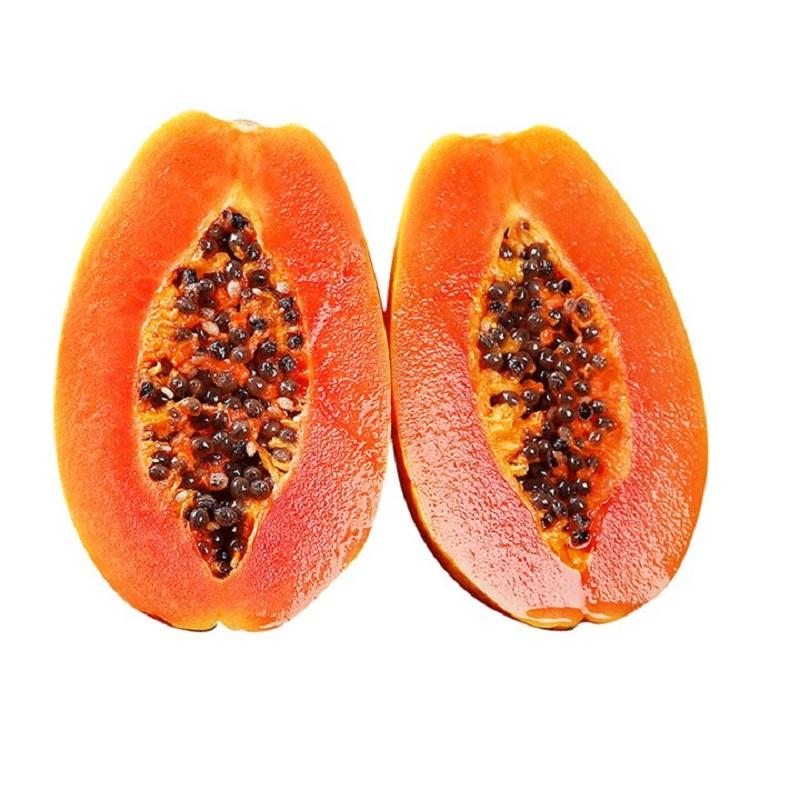正宗广西特产红心牛奶木瓜当季新鲜水果整箱3斤现摘冰糖木瓜包邮