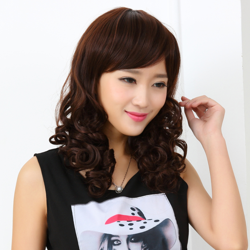 Usd 1843 Wig Female Short Hair Long Hair Long Curly Big Wave