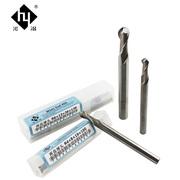 Công cụ cắt Heye chính hãng Công cụ CNC siêu cứng bóng cuối dao phay R dao tốc độ cao thép trắng thép đầu dao 2 lưỡi R0.5-R8