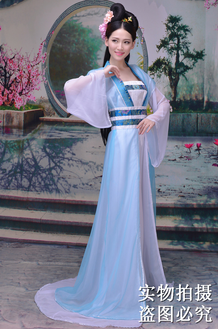 d51b0e0a2 ... New Chinese style female costume Tang suit improved Hanfu female  classical dance costume guzheng costume fairy