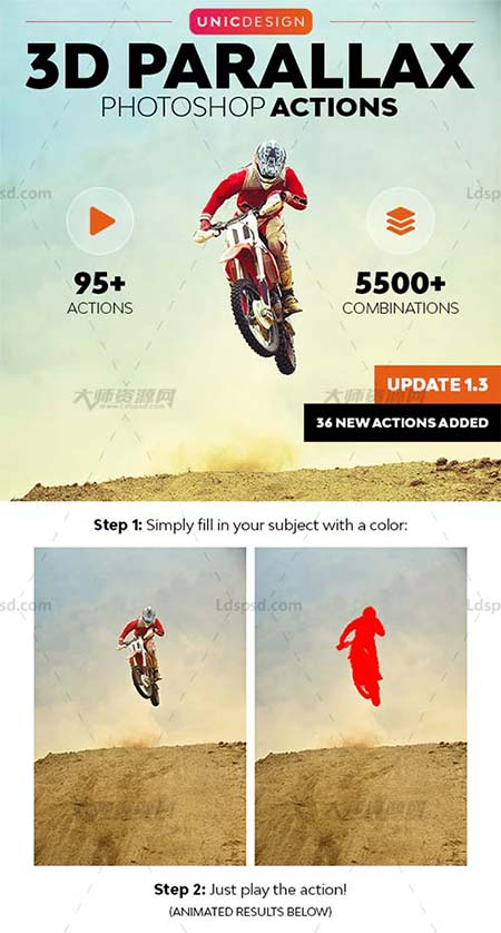 3D Parallax Animated Photoshop Actions.jpg