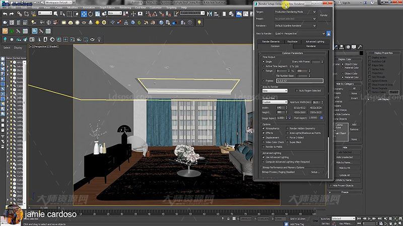 V-Ray 3ds Max Interior Rendering Tutorials3.jpg