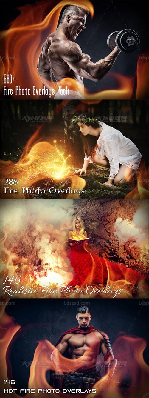 580多张正规ag游戏技巧|HOME的混合专用的火焰图片:580+ Fire Photo Overlays Pack
