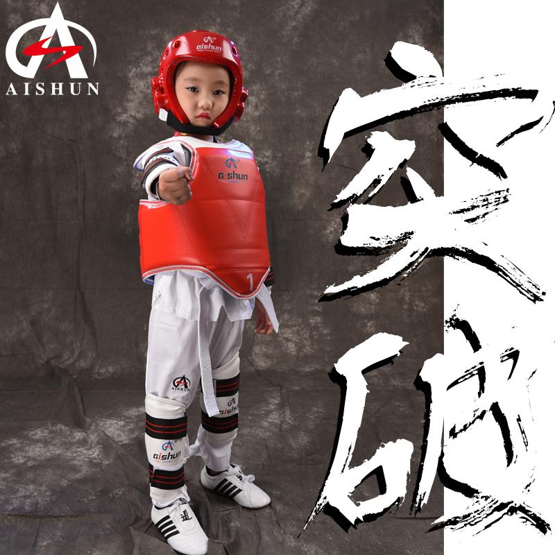 Taekwondo mũ bảo hiểm đồ bảo hộ trẻ em người lớn Sanda đấm bốc đầu Judo võ thuật Muay Thái đào tạo chiến đấu mặt tai